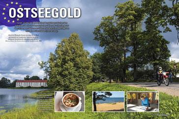 Cooler Cruise: Zwischen Jūrkalne und Kuldīga (Goldingen) überrascht Ēdole mit malerischen Seen.
