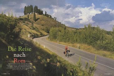 Toskanische Impressionen in der Crête südlich von Siena.