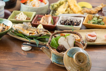 いろり庵季節の会席料理のオードブル ※イメージ