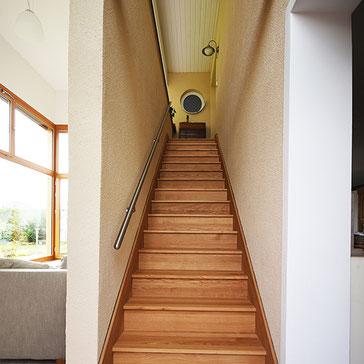 Treppen, Tischlerei, Fenster, Giebelverglasung, Terrasse