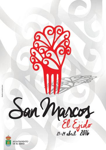 Cartel y programa de las Fiestas de San Marcos en El Ejido