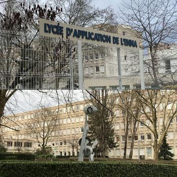 Le Lycée de l'ENNA à Saint-Denis (93). Académie de Créteil.