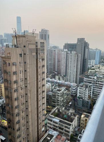 Blick auf Mong Kok