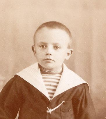 François LE BAILL enfant