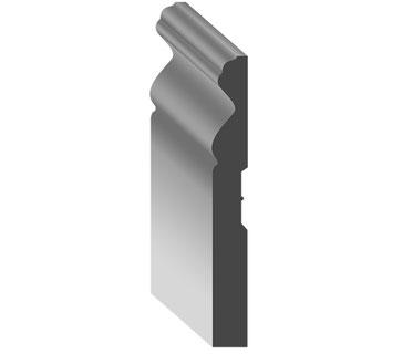 wood baseboard FHS-15512-C