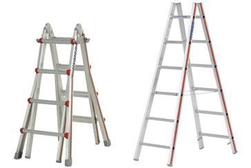 Hymer freistehende Leitern