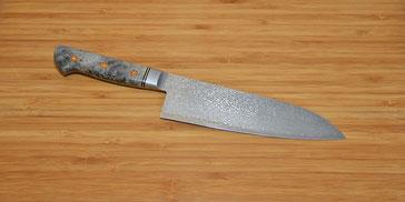Küchenmesser Santoku Hiro CB101/180SA