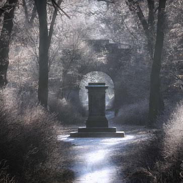 Landschaftsfotografie Georgengarten Dessau, UNESCO Weltkulturerbe