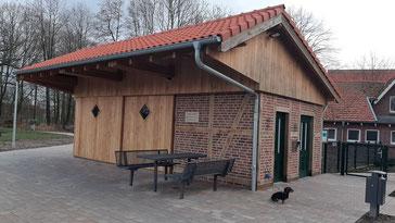Aufenthaltsraum Generationenpark Osterwick