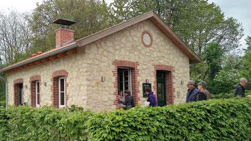 Neubau des Backhauses Darfeld