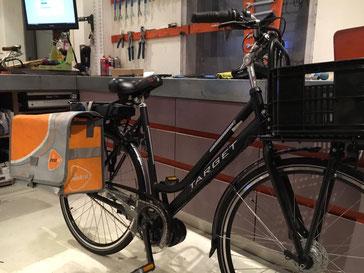 Trek Dual Sport  met ombouwset van FONebike Fiets Ombouwcentrum Nederland