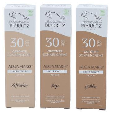 Getönte Sonnencreme fürs Gesicht von Alga Maris