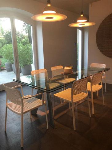 Photo de l'espace salle à manger