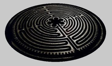 Table labyrinthe