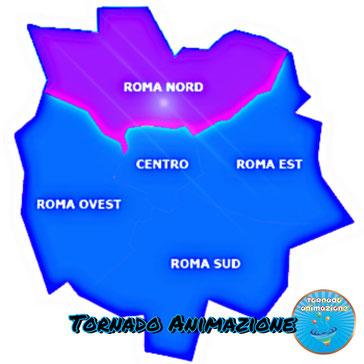 sala feste per bambini Roma Nord