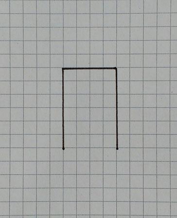 Miniaturstuhl basteln