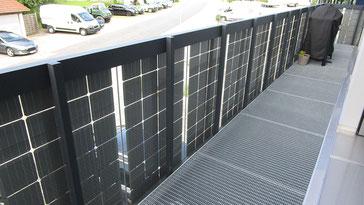 Solarbalkon von innen