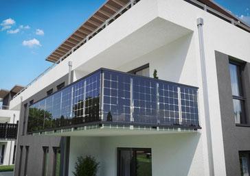 Balkongelander Zum Strom Produzieren Und Sichtschutz Zugleich