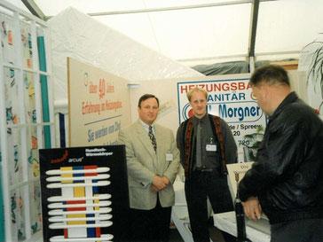 Morgner Haustechnik - auf einer Ausstellung 1996