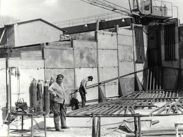 Morgner Haustechnik - Baustelle 1982