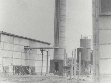 Morgner Haustechnik - Baustelle 1984