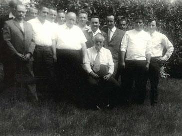 Morgner Haustechnik - das Team der 70er Jahre