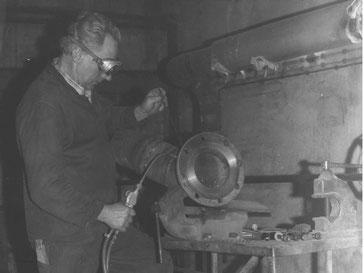 Morgner Haustechnik - Baustelle 1970