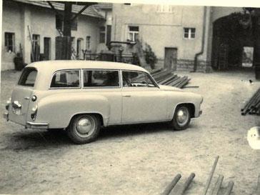 Morgner Haustechnik - erster Firmenwagen