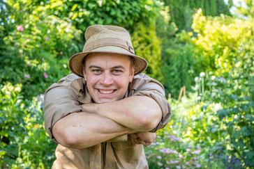 Franjo Hilker, Gärtner, Fachrichtung Garten und Landschaftsbau