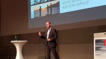 Frank Rebmann - Keynote Speaker, Vortragsredner, Buchautor - Vortrag Tschüss Veränderungsfrust. Denkanstöße Stuttgarter Zeitung