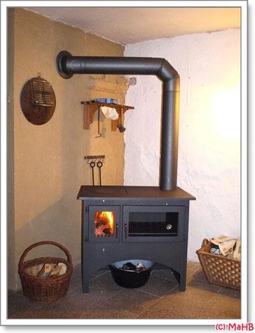Feuer im Ofen