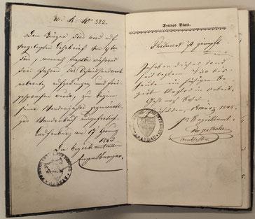 Rheinfelden: 1. 3. 1845