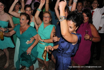 foto party para bodas