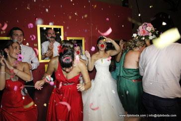foto party y dj para bodas
