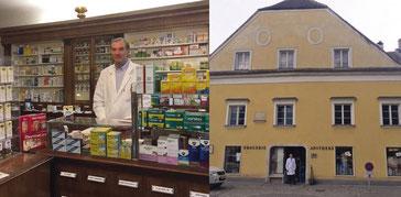 """Mag. Heinrich Schenk und Apotheke """"Zum Erlöser"""" in Drosendorf"""