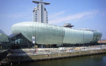 Das ovale Klimahaus