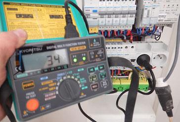 Thierry Besançon, contrôle  électrique de vos installations