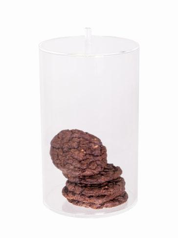 Cookiedose transparent mit Deckel 732, FMU GmbH, Sonderlösungen und Individualprodukte