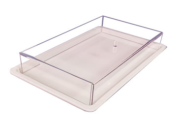 Abdeckhaube transparent ohne Tablett 733, FMU GmbH, Sonderlösungen und Individualprodukte