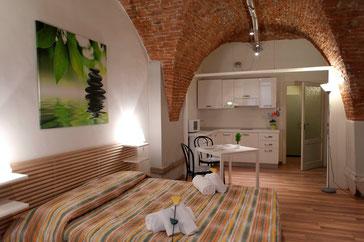 LE VOLTE - 2p - Piccolo loft, il più antico e romantico, con aria condizionata e wi-fi