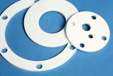 PTFE-Dichtungen aus Plattenmaterial