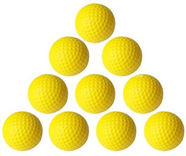 3 Reasons To Use Foam Golf Balls For Practice