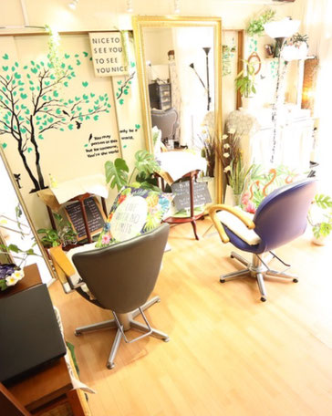 横須賀衣笠美容室.B.B まつげエクステ施術室 着付けができる