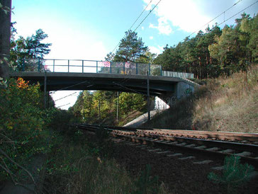 Frank Maschke Ingenieurbüro für Geotechnik  Baugrundgutachten Ersatzneubau Brücke über die Anlagen der Deutschen Bahn AG