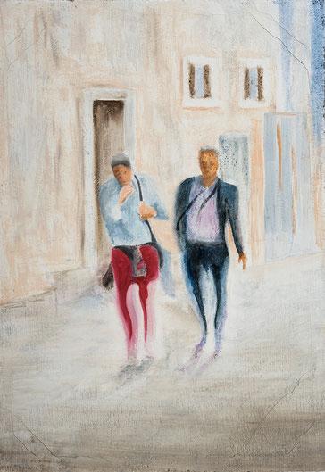 Dipinto - Olio su tela - Quadro pittorico - Arte moderna