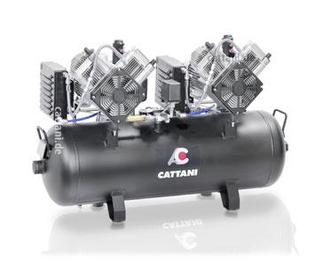 Cattani - Produkte - Dentalkompressoren - 2-Zylinder-Kompressoren