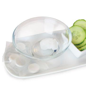 Auflösen in mit Wasserstoff angereichertem Trinkwasser