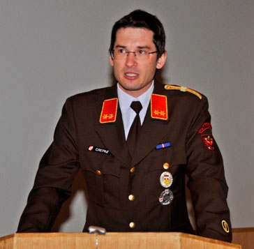 KDT Georg Crepaz bei seinem Jahresbericht für das Jahr 2013