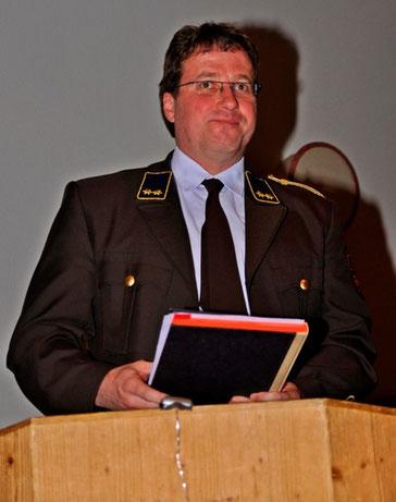 Kassier Martin Tanzer berichtete über den Finanzstand unserer Feuerwehr