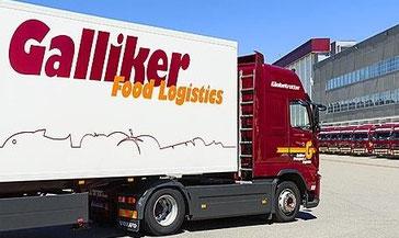 DÜBÖR Bezugsquellen Schweiz Logistik-Partner Galliker